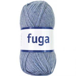 Järbo Fuga Garn 60185 Lys Blå