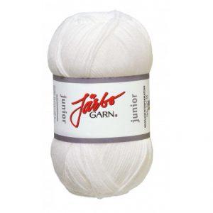 Järbo Junior Garn 67001 Hvid