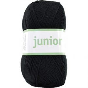 Järbo Junior Garn 67011 Sort