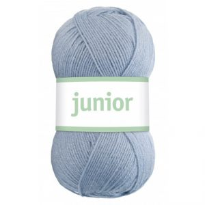 Järbo Junior Garn 67029 Lys Jeans Blå