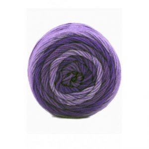 Lammy Crazy Colors Garn Print 421 Lavendel