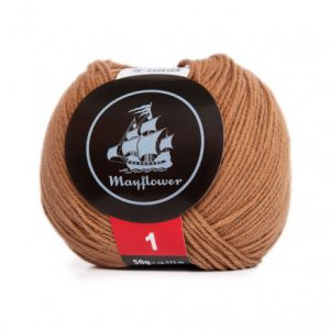 Mayflower Cotton 1 Garn 164 Camel