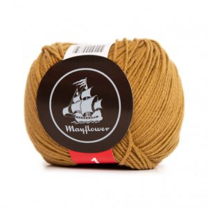 Mayflower Cotton 1 Garn 165 Oliven
