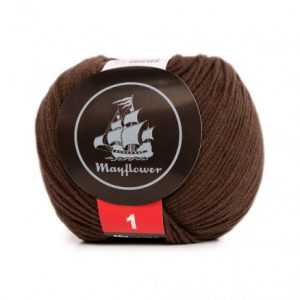 Mayflower Cotton 1 Garn 166 Jordbrun