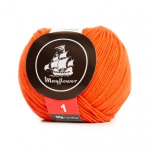 Mayflower Cotton 1 Garn 167 Flammeorange