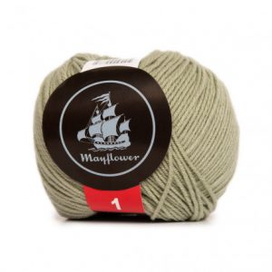 Mayflower Cotton 1 Garn 168 Ørkensalvie