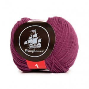 Mayflower Cotton 1 Garn 169 Blomme