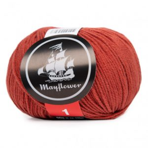 Mayflower Cotton 1 Garn 170 Okker