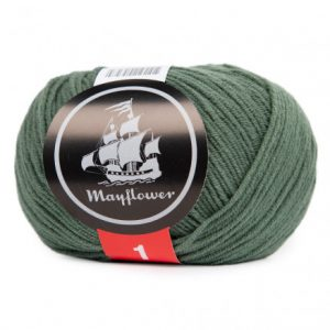Mayflower Cotton 1 Garn 171 Myrtegrøn