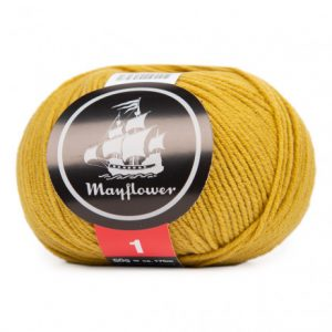 Mayflower Cotton 1 Garn 172 Oliven