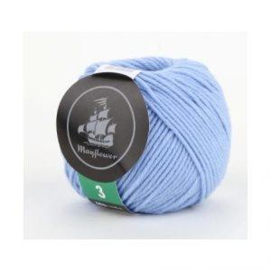 Mayflower Cotton 3 Garn 323 Lys Blå