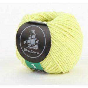 Mayflower Cotton 3 Garn 328 Lime