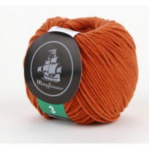 Mayflower Cotton 3 Garn 329 Rust