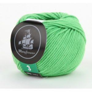 Mayflower Cotton 3 Garn 333 Lys Grøn