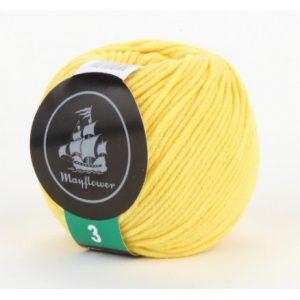Mayflower Cotton 3 Garn 335 Gul
