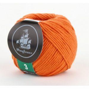 Mayflower Cotton 3 Garn 346 Orange
