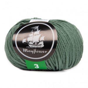 Mayflower Cotton 3 Garn 371 Myrtegrøn