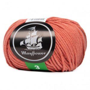 Mayflower Cotton 3 Garn 373 Brændt Sienna