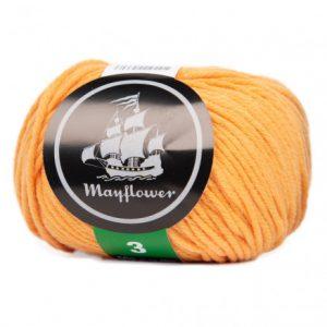 Mayflower Cotton 3 Garn 374 Abrikos