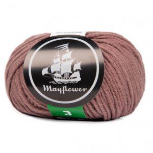 Mayflower Cotton 3 Garn 375 Cognac