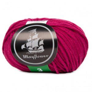 Mayflower Cotton 3 Garn 376 Kirsebær