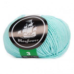 Mayflower Cotton 3 Garn 377 Oceanblå