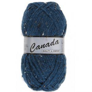 Lammy Canada Garn Mix 464 Petrol Blå/Natur/Brun