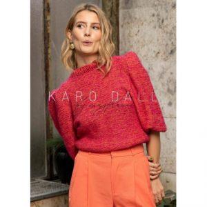 WernieSweater Karo Dall by Mayflower - Sweater Strikkeopskrift str. S-